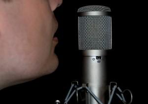 Nagrywanie dźwięku przy mikrofonie